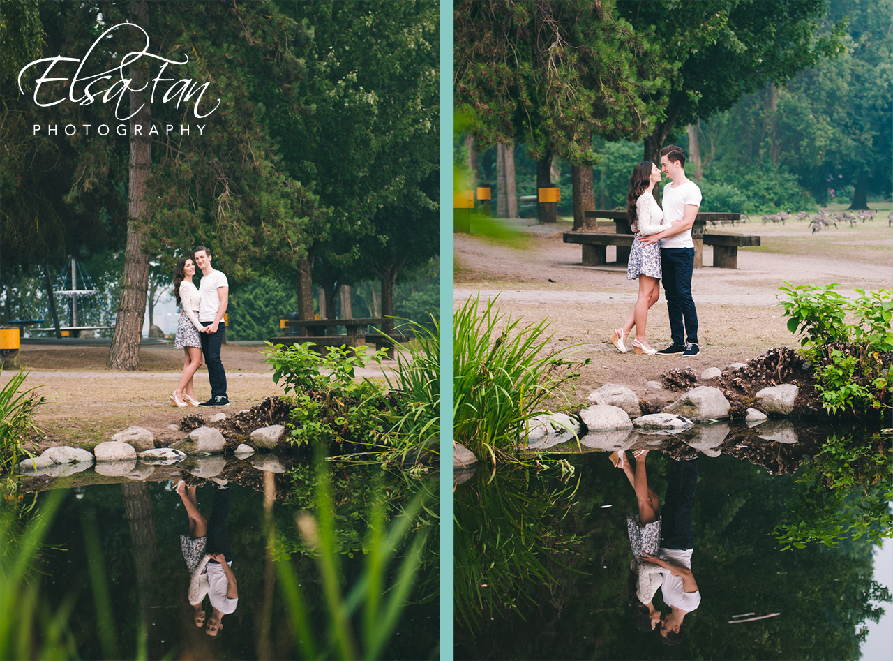 Dana Alex Engagement Elsa Fan Photography