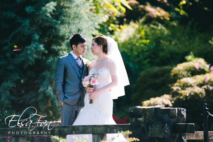 Queen Elizabeth Park Wedding Photos